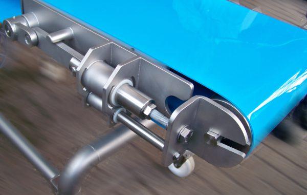 Apullma Förderband mit Schnellwechselmechanismus für TPE-Gurte