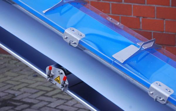 Apullma Förderbänder mit Schutzhaube für pulvrige Stoffe
