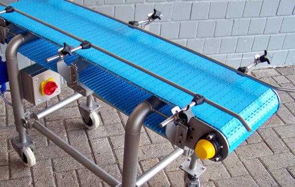 Apullma SuperClean-Fördertechnik mit Kunststoffmodulbändern